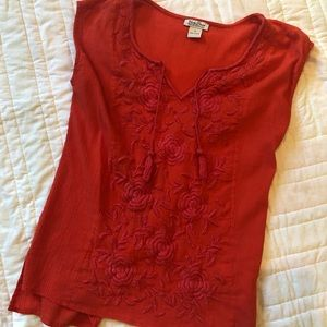 Lucky Brand floral top small